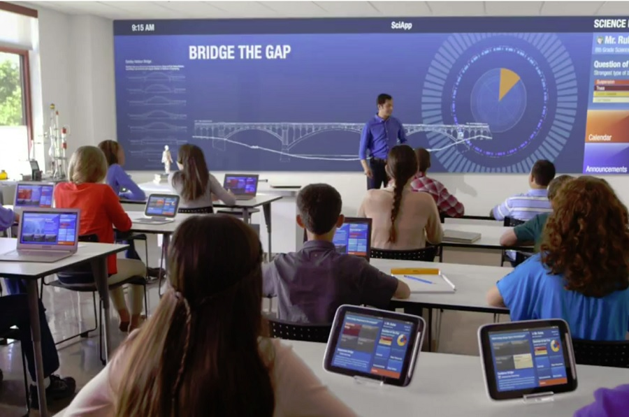 The impact of Technology on Classroom Design