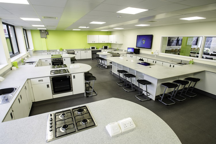 technology food lab classroom room southlands cooking layout tech kitchen classrooms future designs cad cam rooms innova lessons science learning