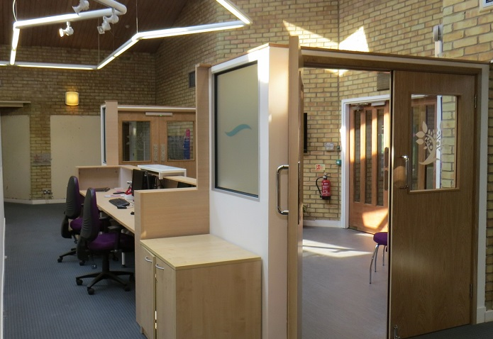 School Reception redesign for Southville